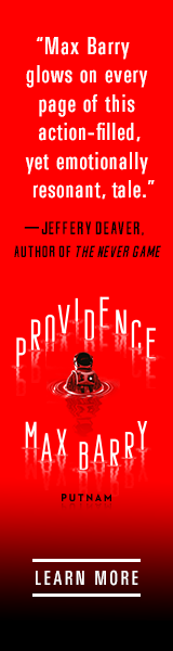 Providence: The new novel by Max Barry, creator of NationStates